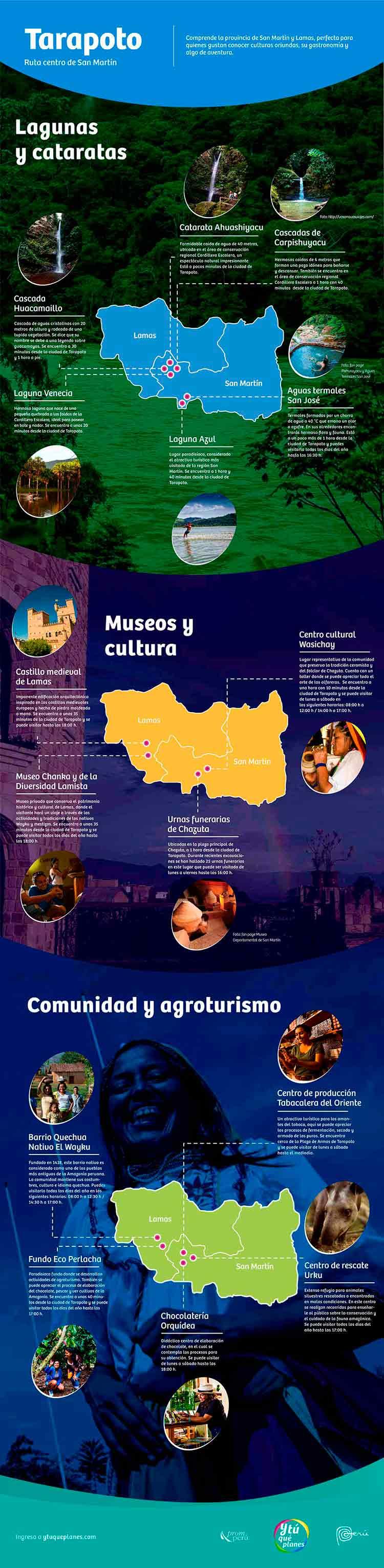 Tarapoto, cultura y experiencias increíbles