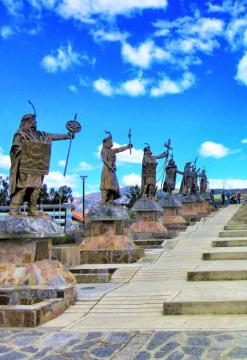 Cicloturismo en el valle de Cajamarca