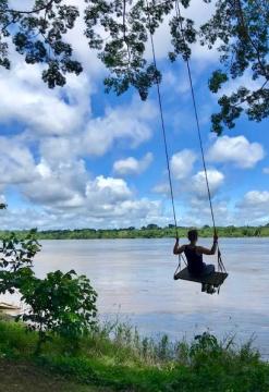 Reserva Nacional de Tambopata con Ecolucerna