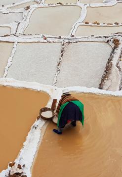 Manos curativas de Misminay en Maras-Moray