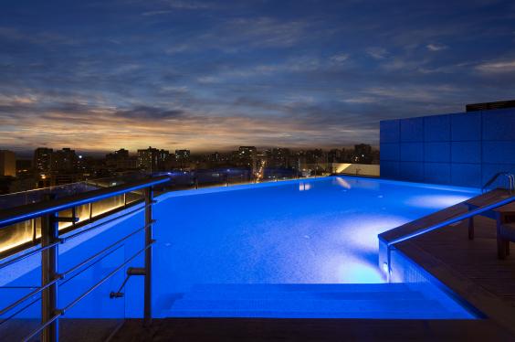 Pool-Sunset