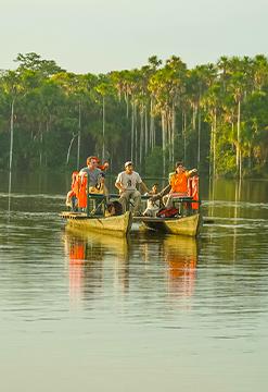 Sandoval Lake Lodge dentro de la Reserva Nacional Tambopata