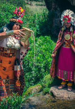 Ceremonia Inka en Saqsayhuaman