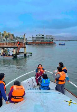 Tour en yate - Isla San Lorenzo