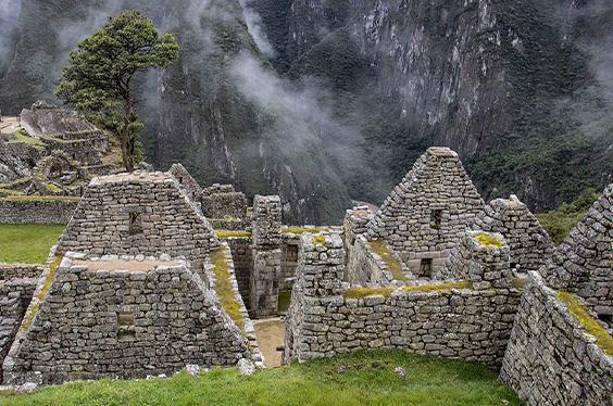 Machupicchu casas