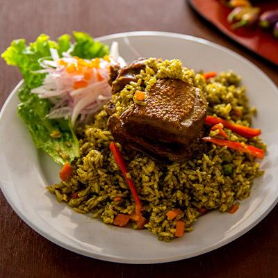 Arroz con pato y más platos bandera de Lambayeque