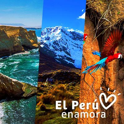 San Valentín: Nuestro Perú enamora