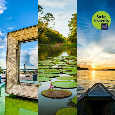 Loreto: Destino Turístico Iquitos, Río Amazonas y Reserva Nacional Pacaya Samiria ya tienen el sello Safe Travels