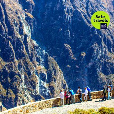 Valle y Cañón del Colca y Ciudad de Arequipa obtienen el sello internacional Safe Travels