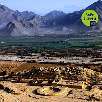 Región Lima: Destino Caral-Barranca ya tiene sello Safe Travels