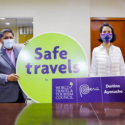 ¡Ayacucho ya tiene su sello Safe Travels!