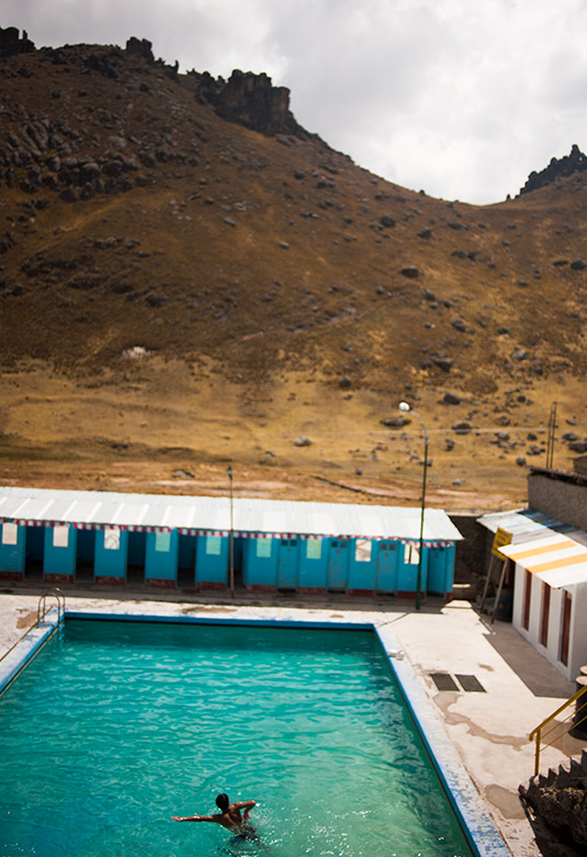 Baños termales La Calera - Pasco