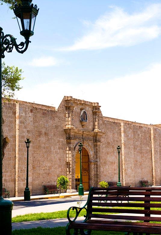 Muro de la Iglesia Matriz