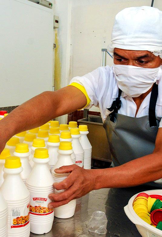 Planta de productos lácteos Floralp