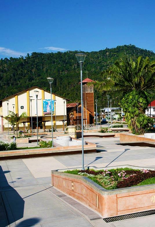 Plaza de Armas de Villa Rica