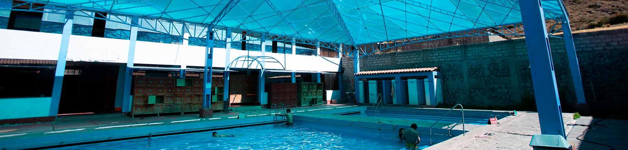 Baños termales de Luicho (Huaynacotas)