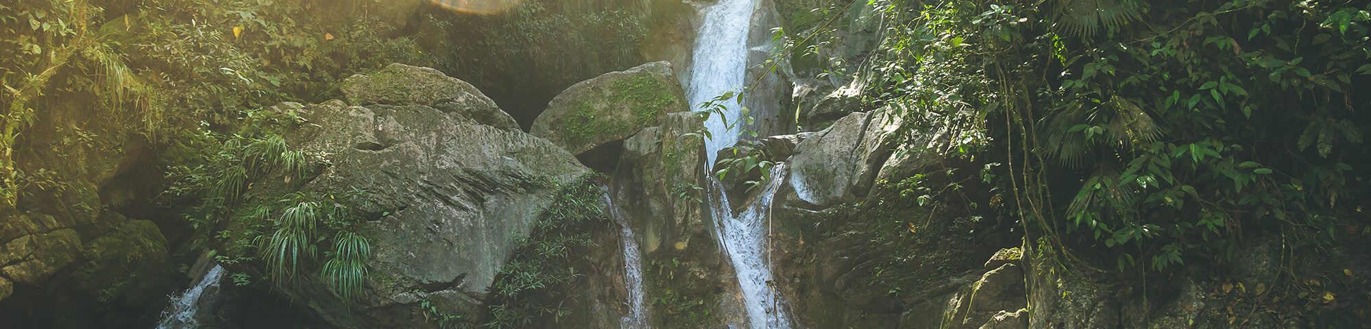 Catarata de Agua Santa Carmen