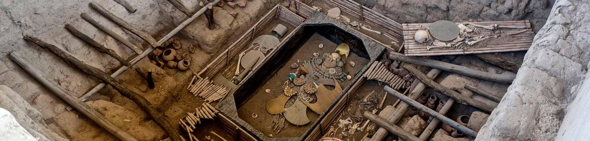 Museo de Sitio y Complejo Arqueológico Huaca Rajada - Sipán