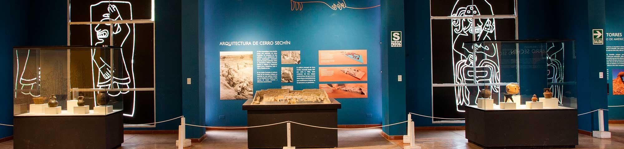 Restos Arqueológicos de Sechín y Museo de Sitio Max Uhle