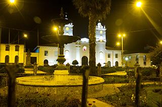Plaza Mayor de la ciudad de Chachapoyas
