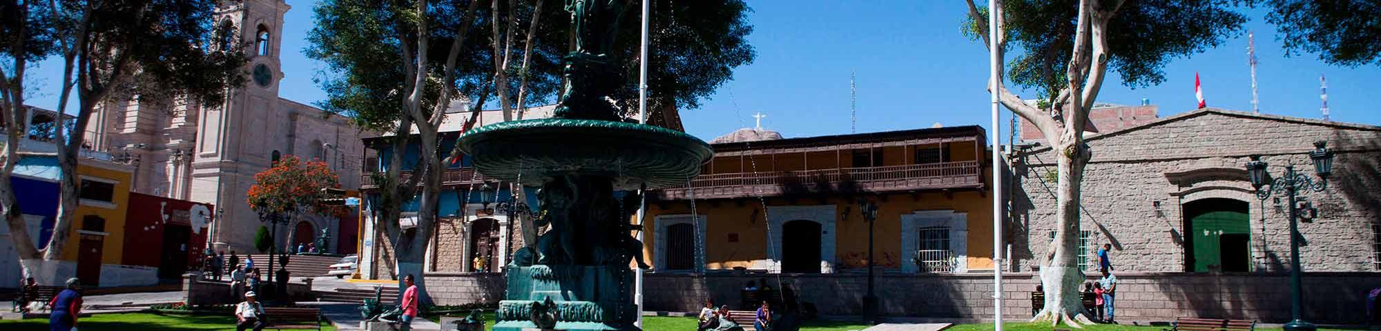 Plaza Mayor de Moquegua