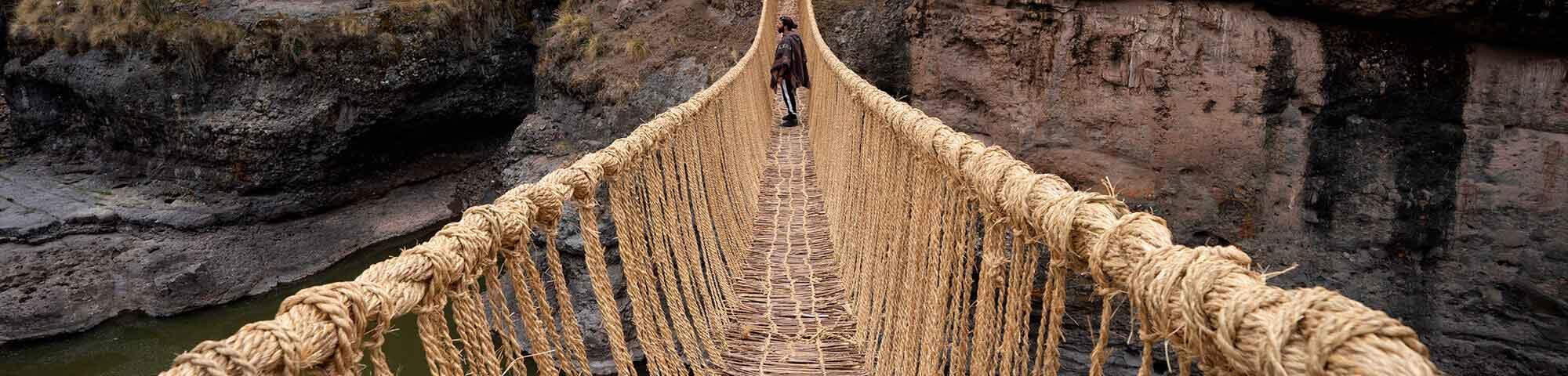 Puente Inca de Q´eswachaka