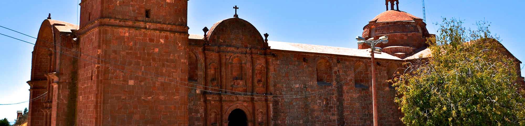 Templo Santiago Apóstol de Pomata