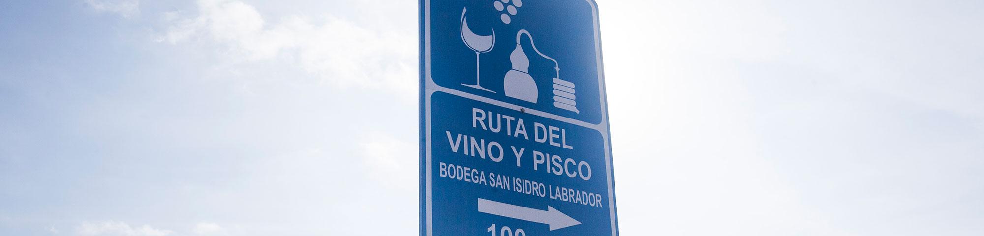 Ruta del Pisco y Vino