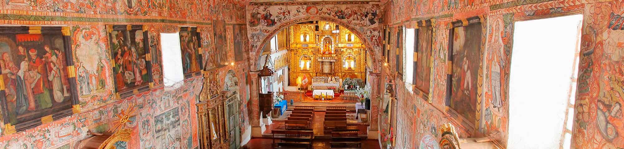 Templo de San Juan Batista de Huaro