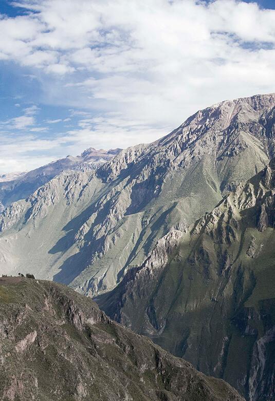 Valle y cañón del Colca