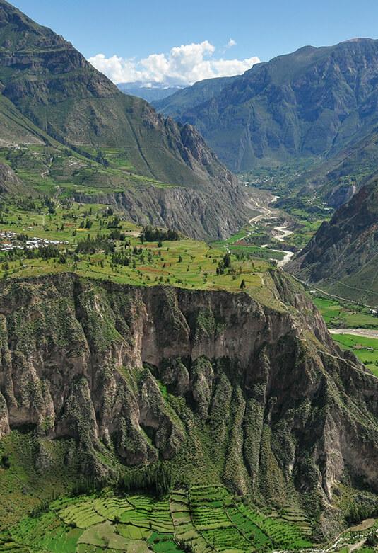 Valle y cañón de Cotahuasi