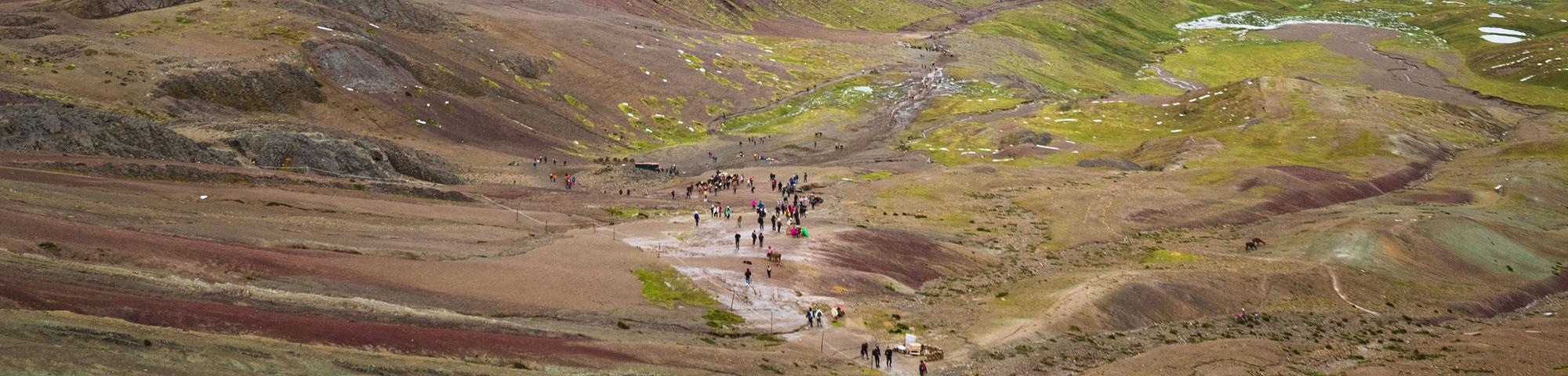 Vinicunca o Montaña de 7 colores