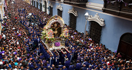 Dia central del Señor de los Milagros (Lima)