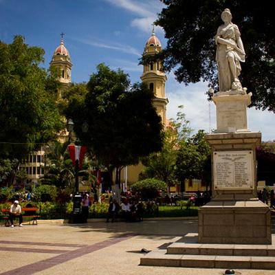 Aniversario de la fundación española de Piura