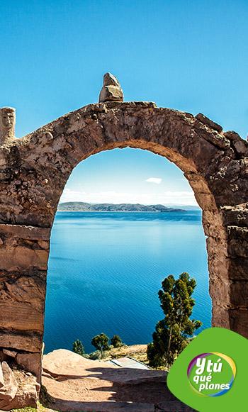 Isla de Taquile en el Lago Titicaca