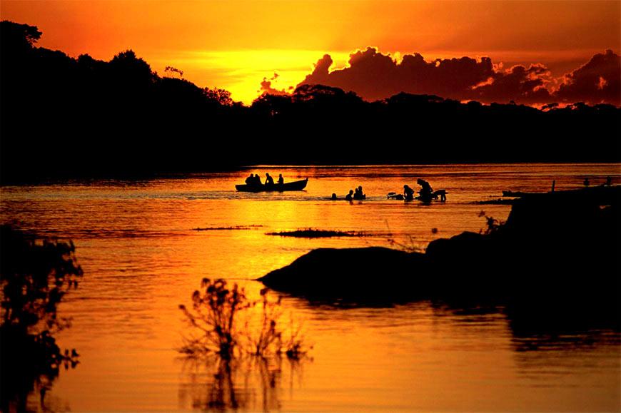 Orilla del Río Tigre