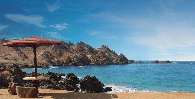Playa Puerto Inca en Arequipa
