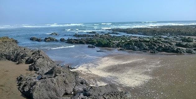 Playa Boca del Rio en Tacna