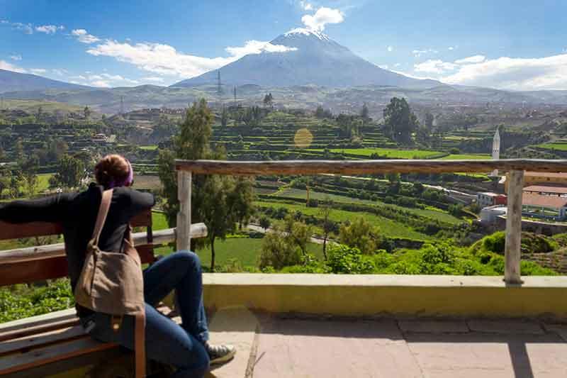 Aniversario de Arequipa Mirador al Misti