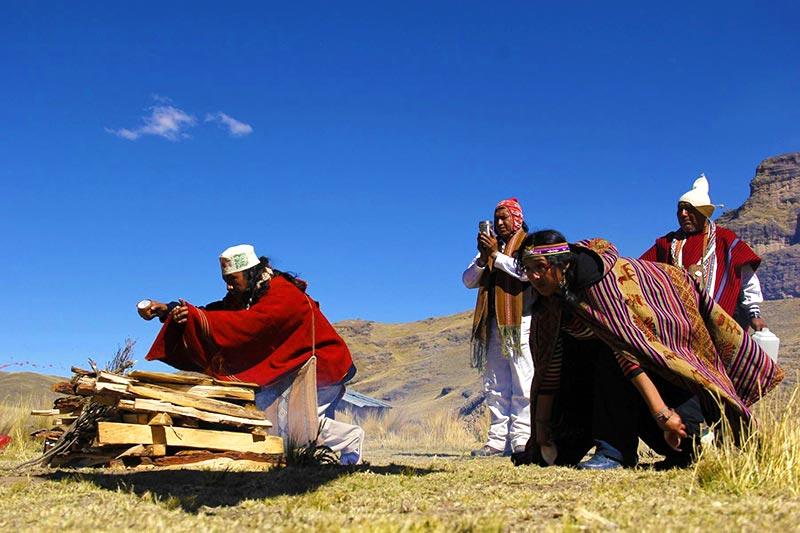 Año Nuevo Andino Ritual