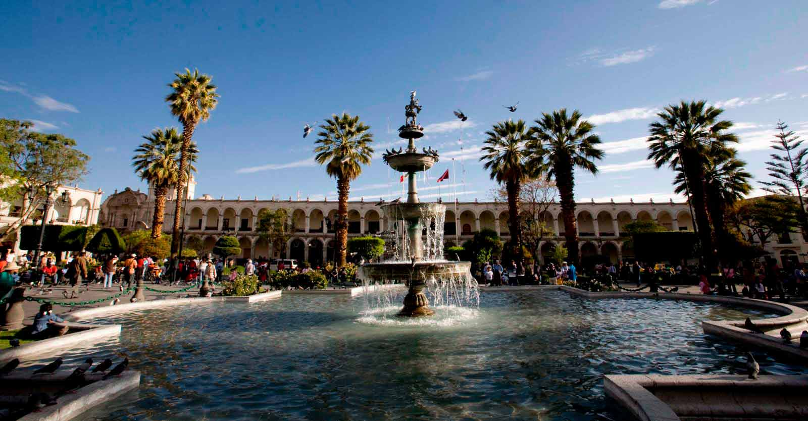 Plaza de Armas de Ciudad de Arequipa
