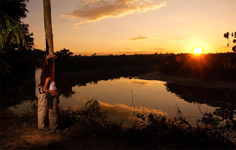 Atardecer en Tambopata