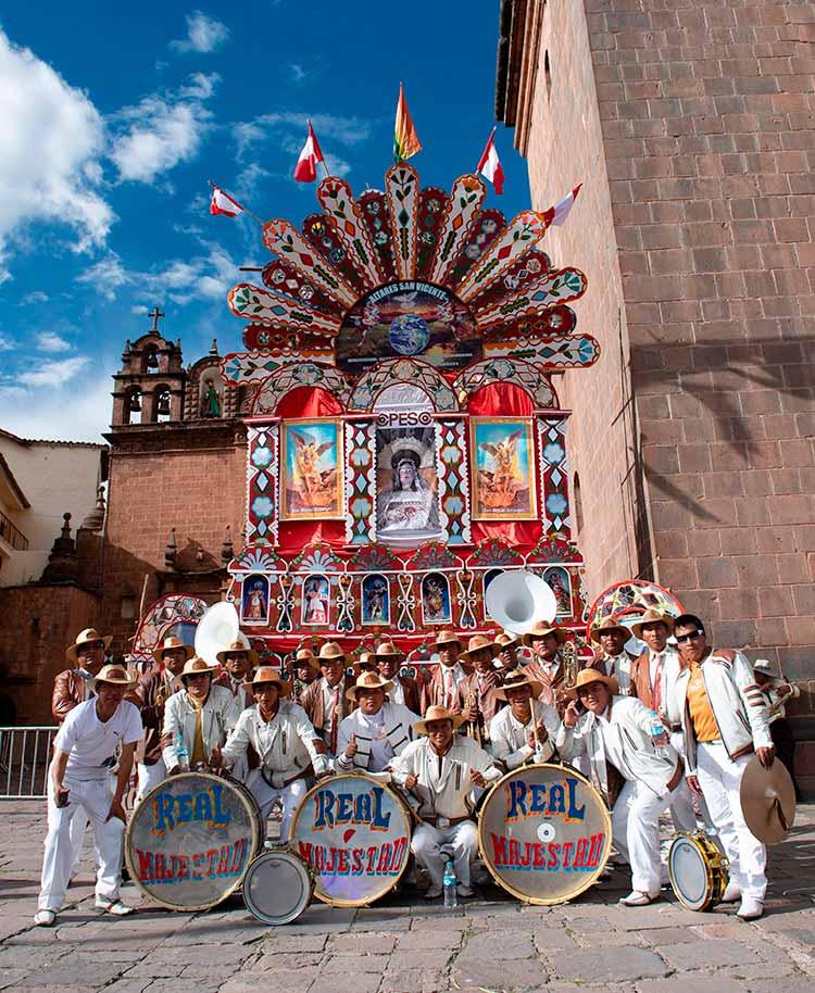 Banda de músicos en Corpus Christi