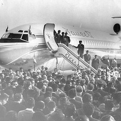 Dos pioneros de la aviación nacional