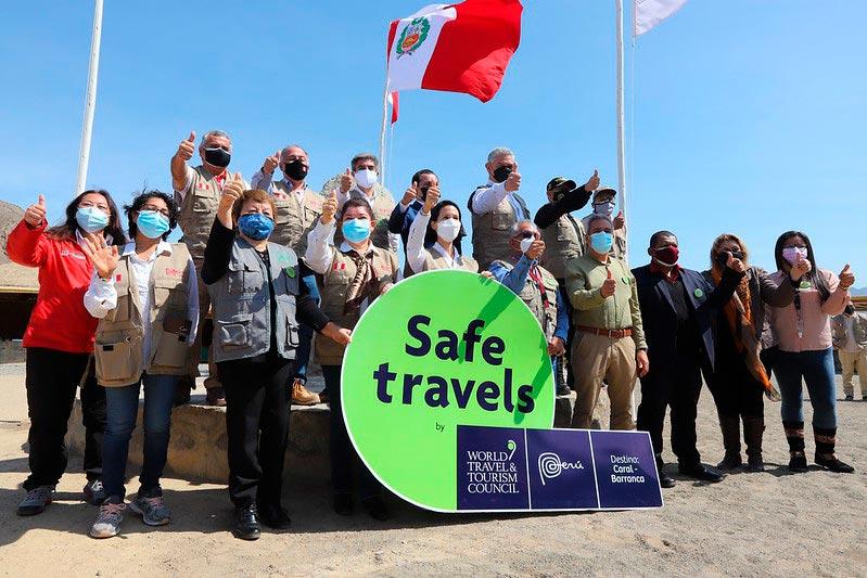 Evento Safe Travels en Caral