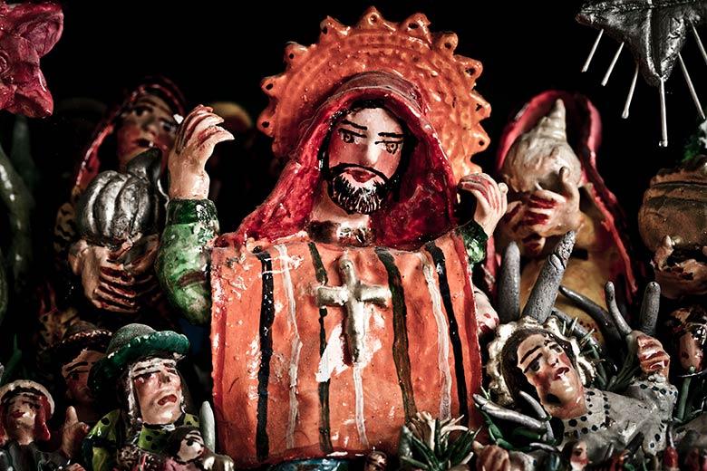 Detalle de Retablo de Jesús Urbano