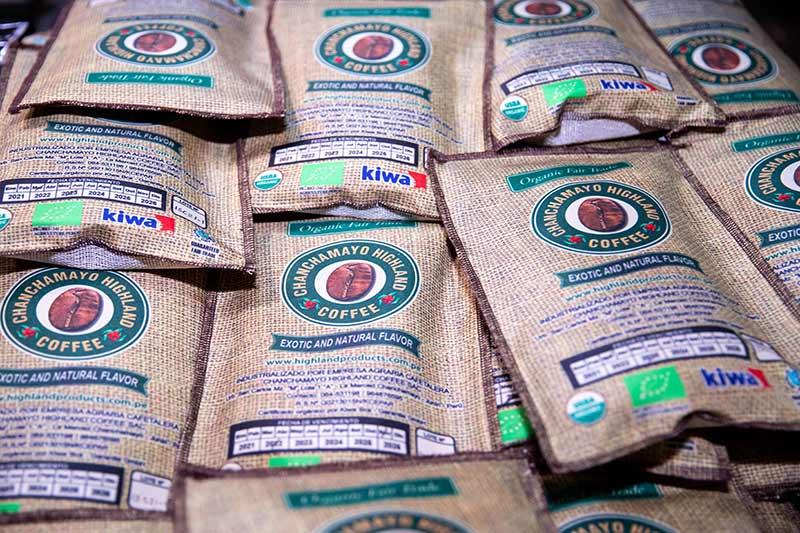 Día del Café peruano bolsas de café
