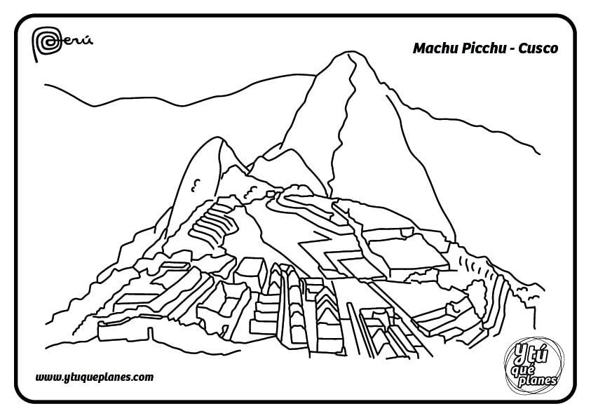 dibujo-machupicchu