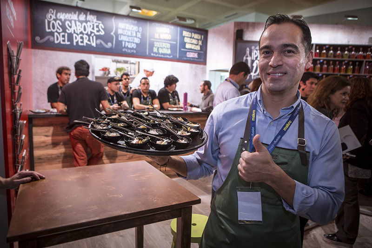 Ferias de cocina peruana en el extranjero