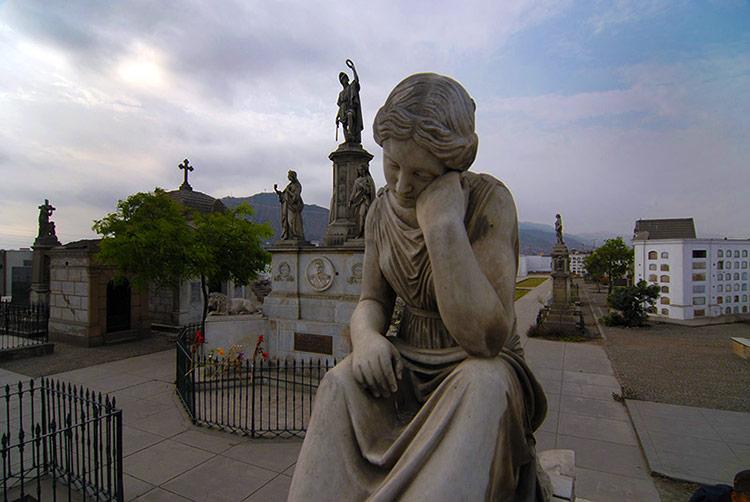 Cementerio Presbítero Maestro Historias de Fantasmas